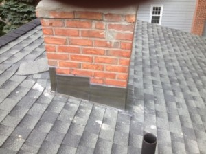 Repaired Flashing