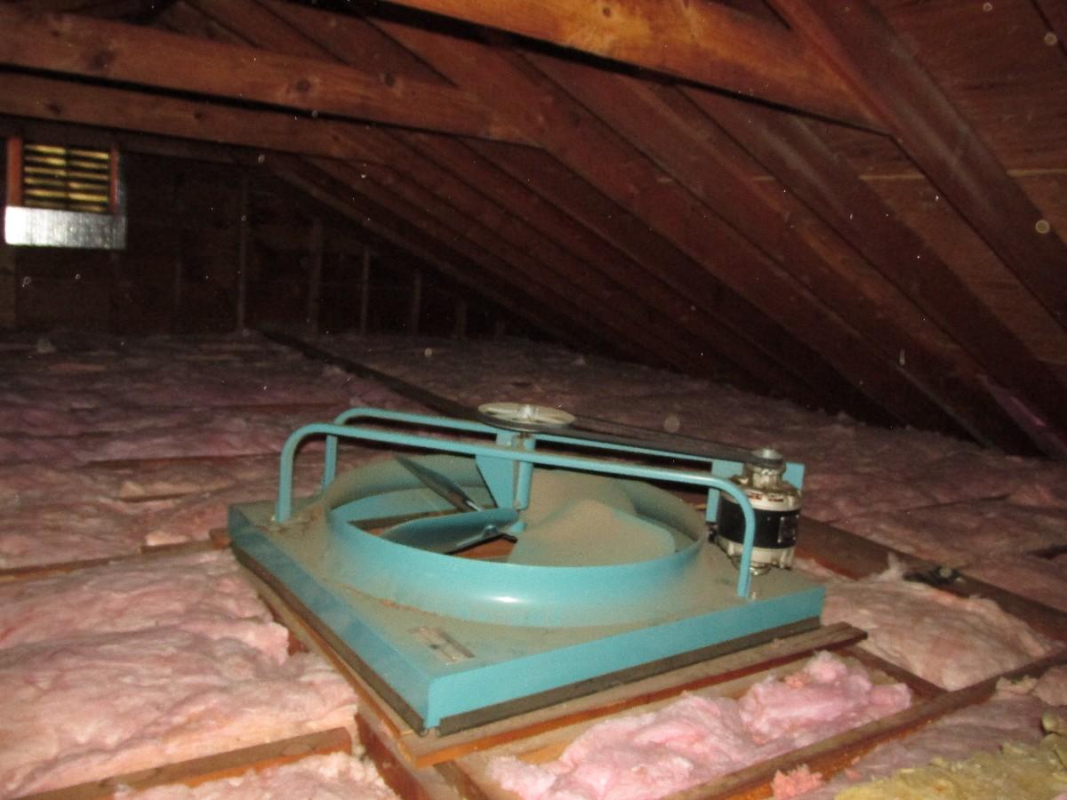 Whole House Fan : I m not a fan jrv home inspections